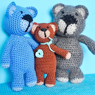 Teddy Bear Applique - Crafts - Free Craft Patterns - Craft Ideas