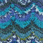 Knitting stitch * Chevron Stitch Missoni style