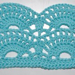 Crochet Stitch Instruction * Big Fan Stitch