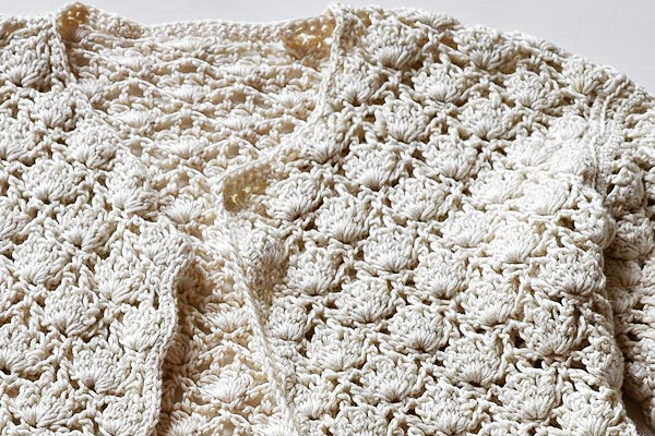 Crochet Stitch * Offset Shell Stitch