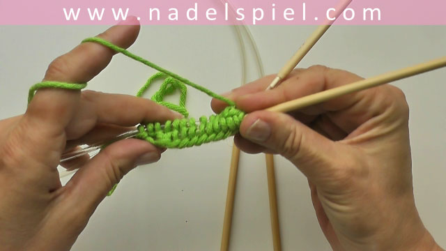 Knitting Socks with 2 circular needles