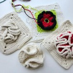 "Knitaholics Advent Calendar 2012 * December 17 * Granny Square ""Bobble"""