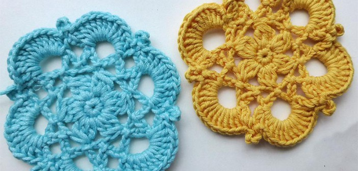 "Advent Calendar * December 15 * Crochet Star ""Elosia"""