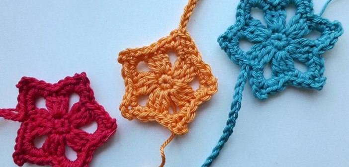 "Advent Calendar * December 16 * Crochet Star ""Last Minute"""