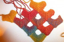 Advent Calendar * December 14 * Knit Half Domino Squares