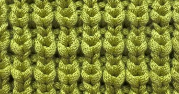 Quarter Brioche Stitch