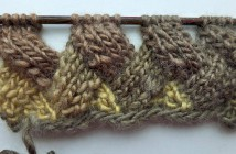 Knitting Entrelac in Rows