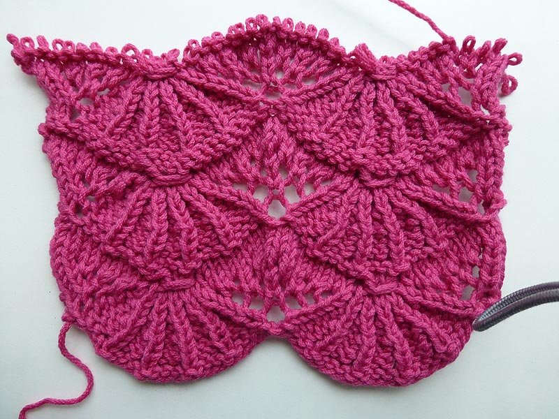 "Knitting Stitch ""Bear's Paws"""
