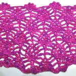 "Crochet with eliZZZa * Crochet Stitch ""Baby Pineapple"""