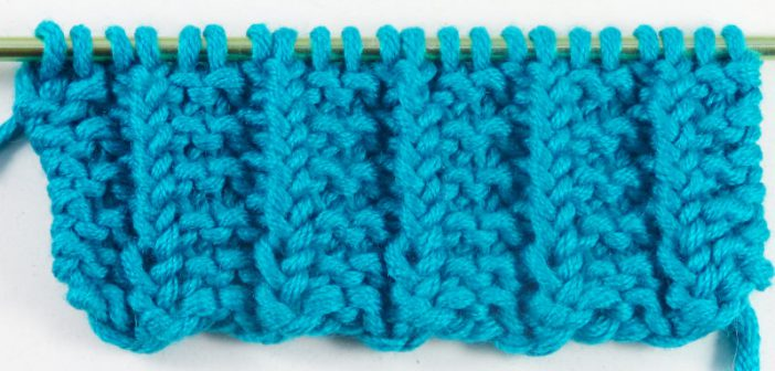 Super easy waffle stitch plead stitch